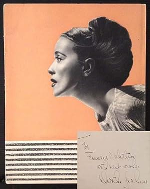 Martha Graham and Her Dance Company