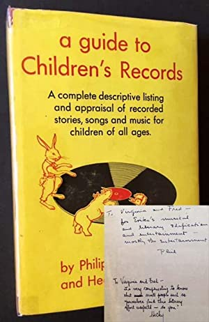 A Guide to Children's Records: A Complete Guide to Recorded Stories, Songs and Music for ...