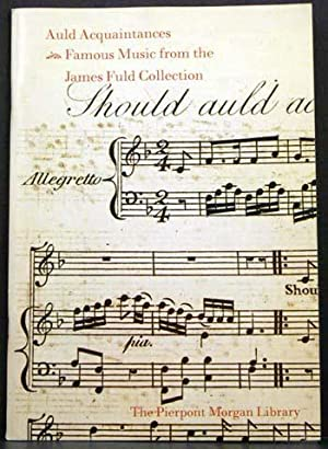 Auld Acquaintances: Famous Music from the James Fuld Collection: J. Rigbie Turner