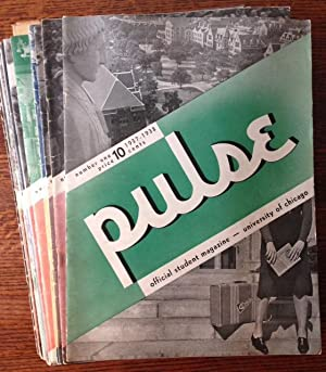 Pulse: Student Magazine of the University of Chicago (30 Issues)