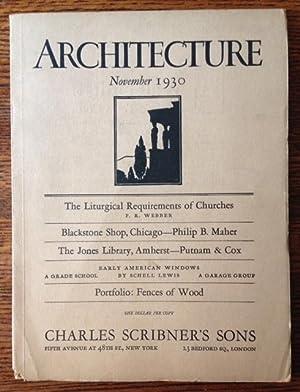 Architecture (November 1930)