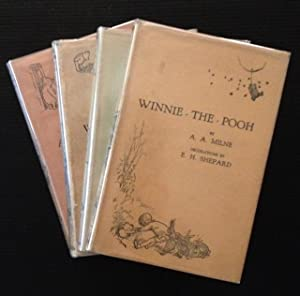 """The """"Pooh"""" Tetralogy: Winnie the Pooh/When We: A.A. Milne"""