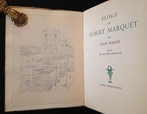 Eloge de Albert Marquet: Leon Werth