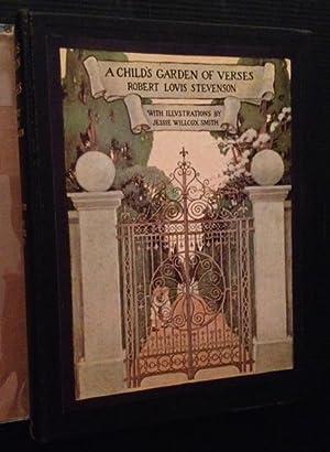 A Child's Garden of Verse (in Dustjacket): Robert Louis Stevenson (Jessie Wilcox Smith)
