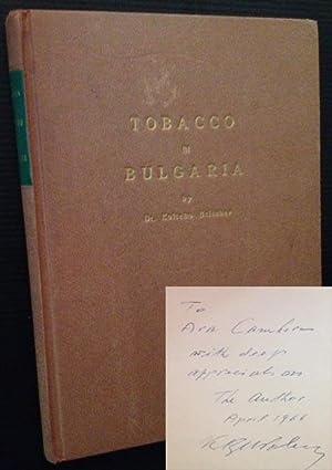 Tobacco in Bulgaria: Dr. Koitcho Beltchev