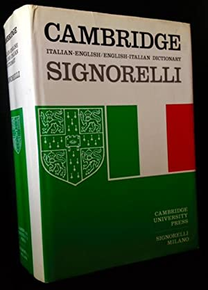 Cambridge Italian-English/English-Italian Dictionary