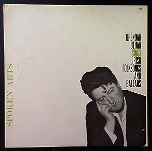 Brendan Behan Sings Irish Folksongs and Ballads (LP Record)