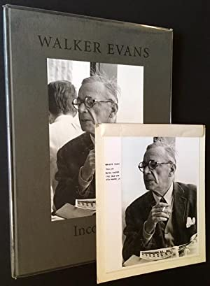 Incognito + The Original Peter Koster Photograph of Walker Evans from Which the Cover Portrait Was ...