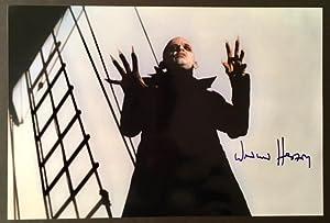 "Photograph of Klaus Kinski as ""Nosferatu"", Signed by Werner Herzog"
