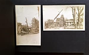 Early 20th Century Photo Album Depicting Mostly Connecticut Bridges in Their Various States of ...