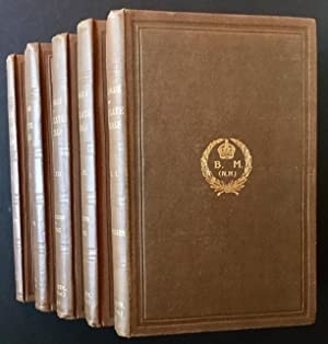 Catalogue of the Ungulate Mammals in the British Museum (Natural History) -- 5 Vols: Richard ...