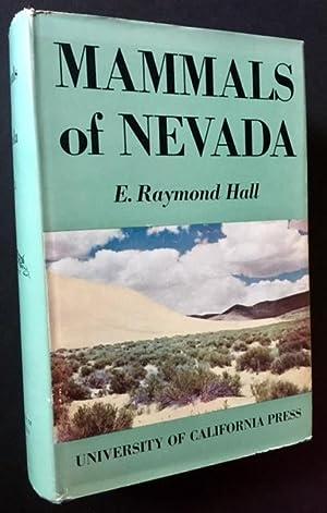 Mammals of Nevada: E. Raymond Hall
