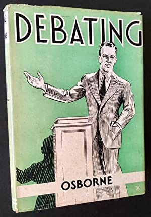 Debating (in Dustjacket)