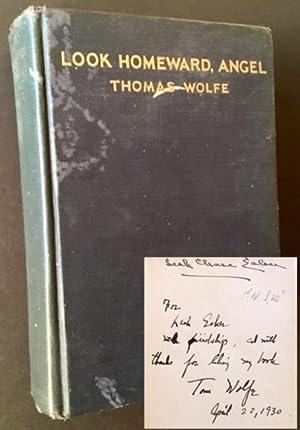 Look Homeward, Angel: Thomas Wolfe