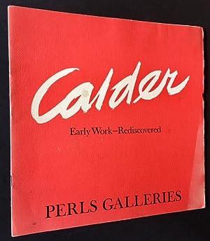 Alexander Calder: Early Work Rediscovered (Nov. 14--Dec. 23, 1967)