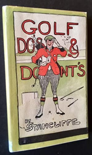 Golf Do's & Dont's (In Dustjacket): Stancliffe