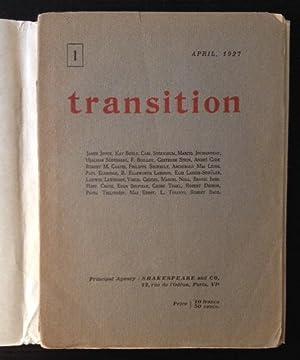 Transition #1: Eugene Jolas and