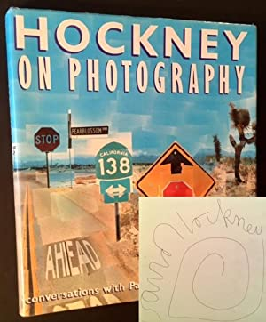 Hockney on Photography: Conversations with Paul Joyce (Signed by David Hockney)