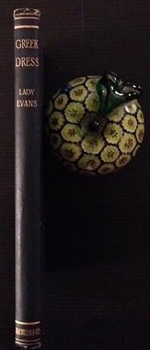 Chapters on Greek Dress: Maria Millington Evans