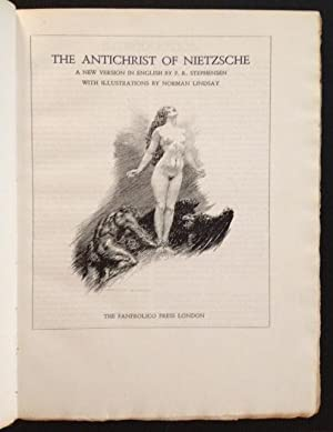 The Antichrist of Nietzsche: Friedrich Nietzsche
