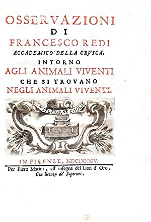 Osservazioni intorno agli animali viventi che si trovano negli animali viventi (Italian Edition)