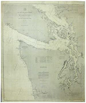 Sea Coast and Interior Harbors of Washington. From Gray's Harbor to Olympia Including Washington ...