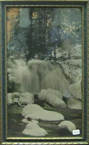 Bow Falls, Banff [Original Hand-Coloured Photograph]: Noble, George