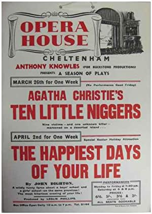 Opera House. Cheltenham. Anthony Knowles (For Buckstone: Opera House Cheltenham