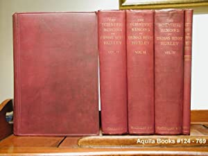 The Scientific Memoirs of Thomas Henry Huxley: Foster, Professor Michael, and Lankester, Professor ...