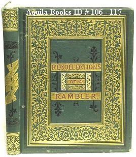 Recollections of a Rambler: Simcox, G. A.