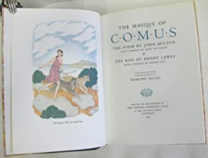 The Masque of Comus. The Poem & the Airs by Henry Lawes: Milton, John