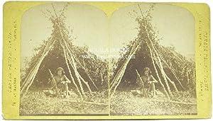 """844. Sitting Bull's Deserted Tepee - Qu'appelle."""": Haynes, F. J."""