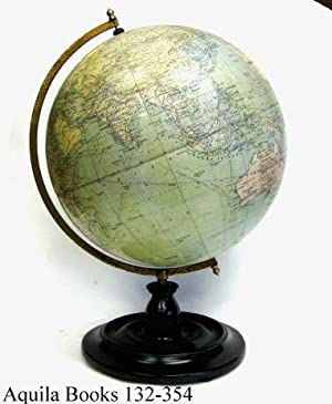 12 Inch Terrestrial Globe: Philips, George & Son