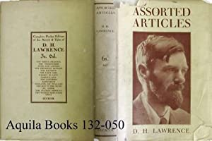 Assorted Articles.: Lawrence, D. H.