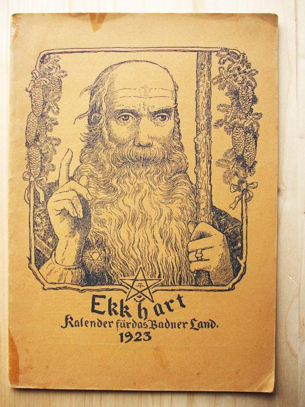 Ekkhart. Kalender für das Badner Land. 4.: Wingenroth, Max
