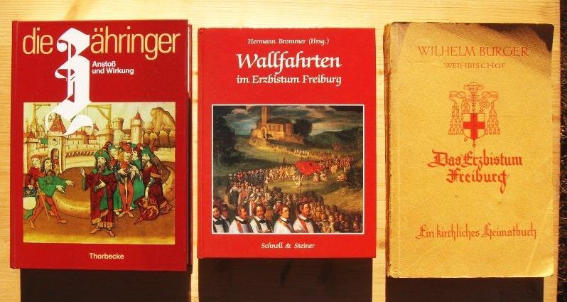Drei Bücher: 1. Die Zähringer Band II.: Hans Schadek (Hg.)
