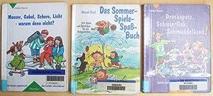 Drei Bücher: Messer, Gabel, Schere, Licht, warum: Baum, Heike /