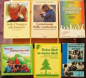 Konvolut mit sechs Bücher: 1. Gemeinsam Stille: Gerda Maschwitz und