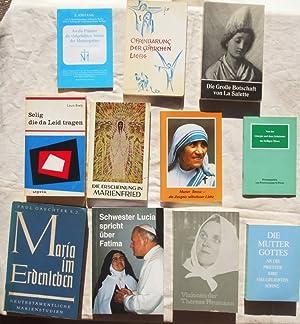 Konvolut mit zehn Bücher: Die Große Botschaft: Johannes M. Höcht