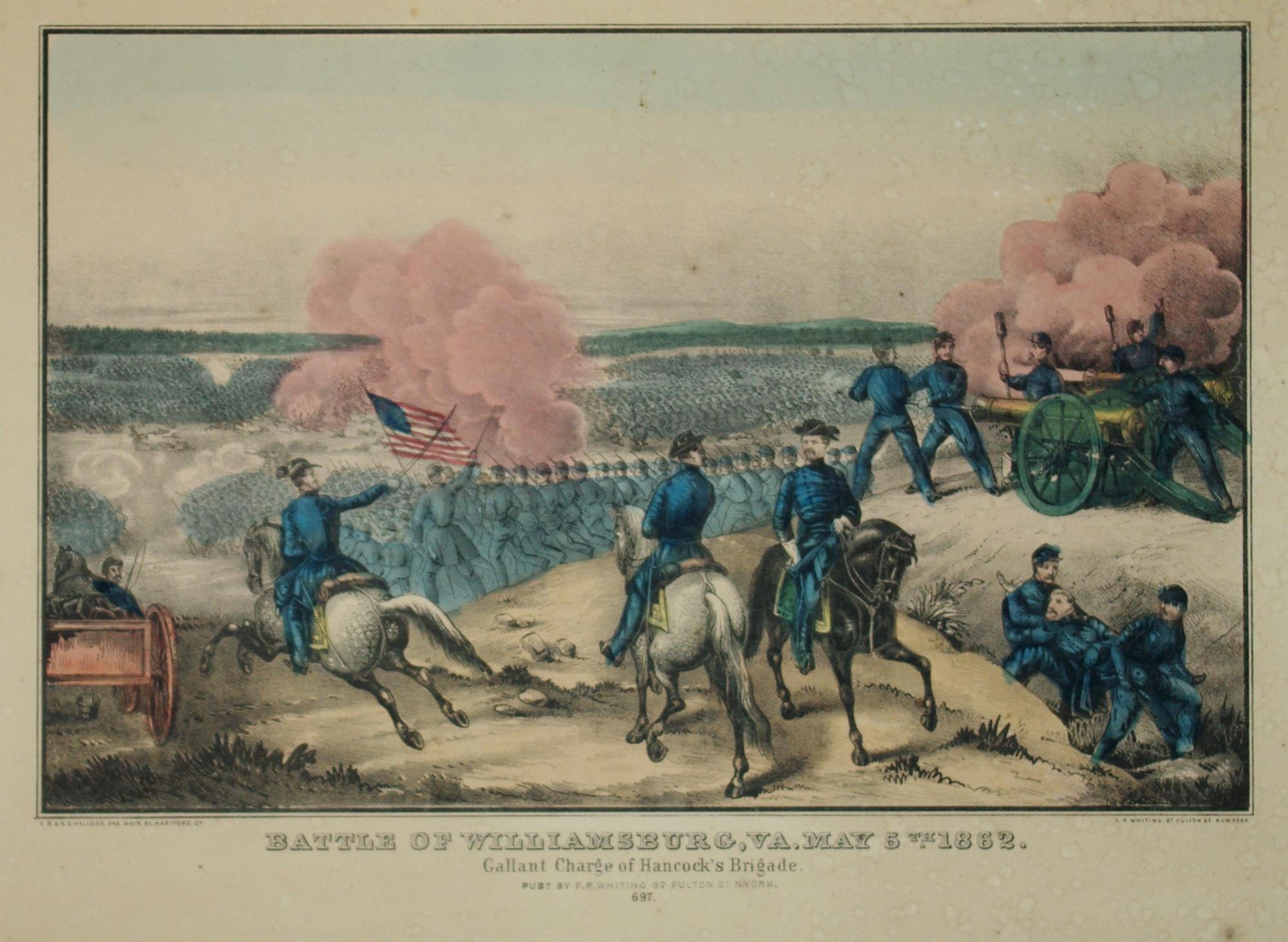 Battle of Williamsburg, VA, May 5th, 1862: E. B. & E. C. Kellogg