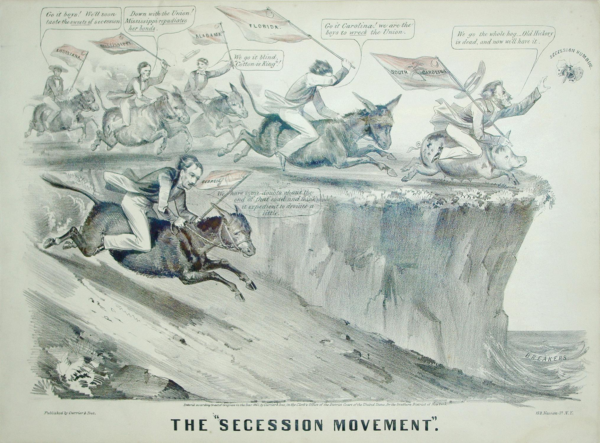 The ¿Secession MOvement¿: Nathaniel Currier (1813-1888) & James Merritt Ives (1824-...