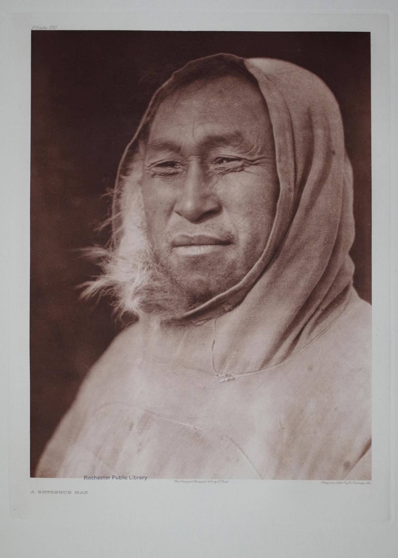A Kotzebue Man, Pl. 710 from The North American Indian. Portfolio XX: Edward S. Curtis (1868-1952)