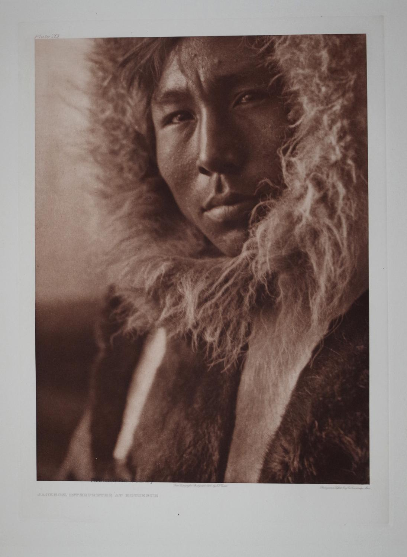 Jackson, Interpreter at Kotzebue, Pl. 713 from The North American Indian. Portfolio XX: Edward S. ...