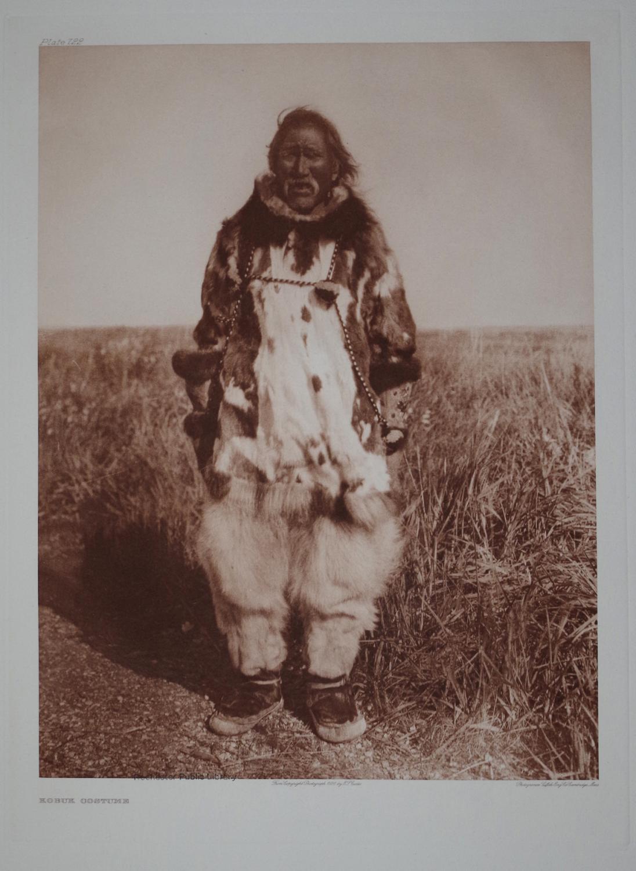 Kobuk Costume, Pl. 722 from The North American Indian. Portfolio XX: Edward S. Curtis (1868-1952)
