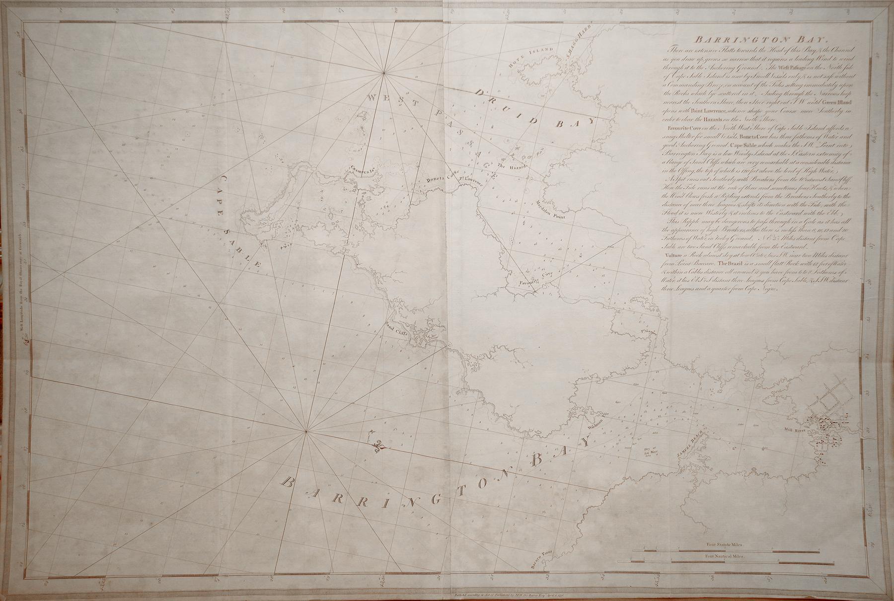 Barrington Bay: Joseph Frederick Willet Des Barres