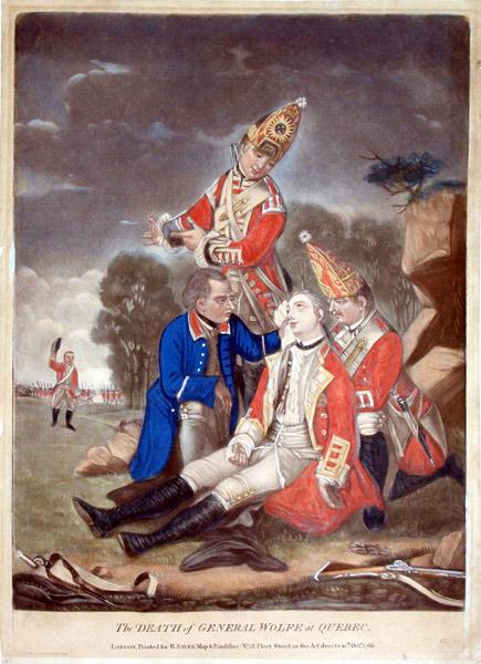 The Death of General Wolfe at Quebec