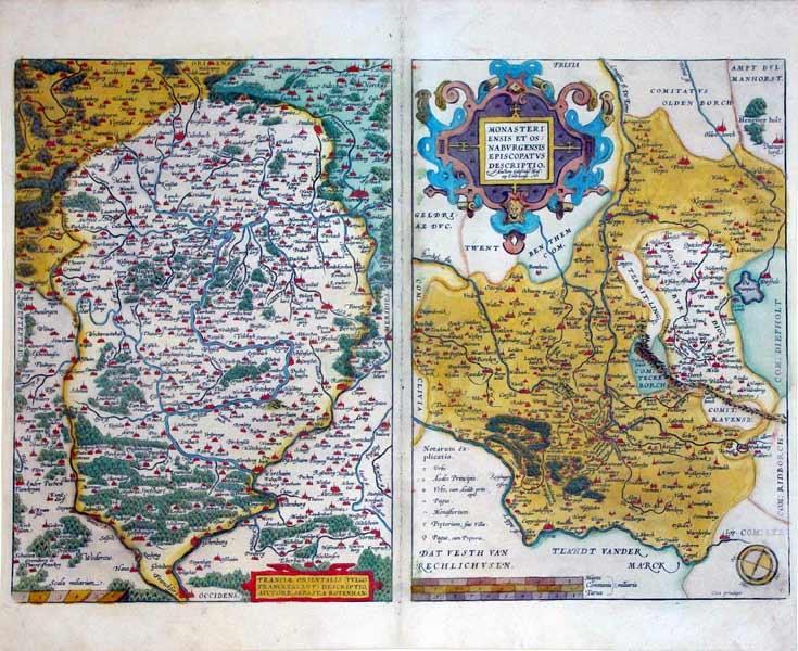 Franciae Orientalis (Vulgo Franckenlant) Descriptio, Auctore, Sebast.a Rotehhan./Monasteriensis et ...