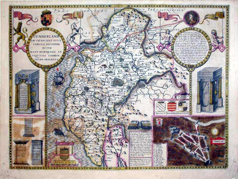 Cumberland and the Ancient Citie Carlili Described With Many Memorable Antiquities Therein Found ...