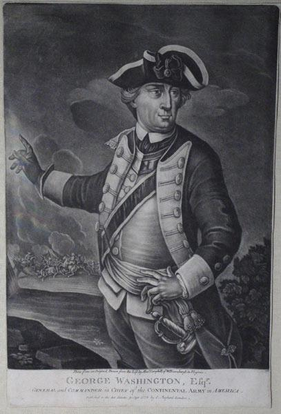 George Washington, Esqr./General & Commander of the Continental Army in America/Done from an ...