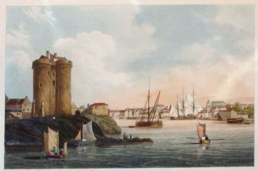 Vue du Port de Solidor: Ambroise-Louis Garneray (1783-1857)